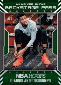 Backstage Pass Giannis Antetokounmpo