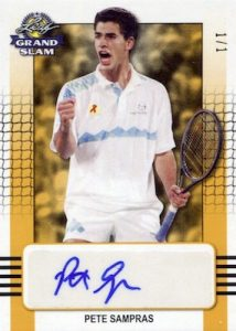 Base Auto Pete Sampras