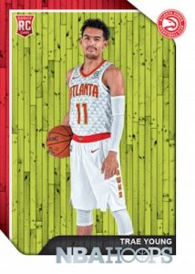 Base Rookie Trae Young