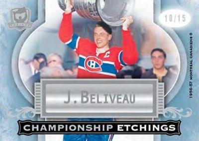 Championship Etchings Jean Beliveau
