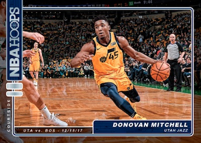Courtside Donovan Mitchell