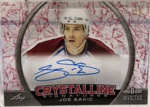 Crystaline Signatures Joe Sakic