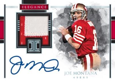 Elegance Retired Patch Auto Joe Montana