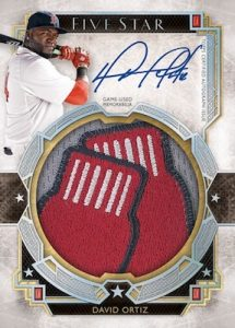 Five Star Auto Jumbo Patch David Ortiz
