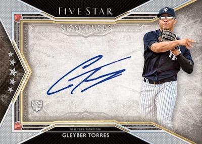 Five Star Signatures Gleyber Torres