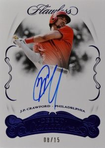 Flawless Debut Signatures J.P. Crawford