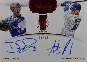 Flawless Dual Signatures Ruby David Ross, Anthony Rizzo