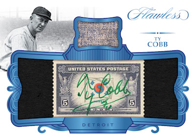 Flawless Material Cuts Ty Cobb
