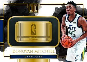Gold NBA Logo Donovan Mitchell