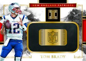 Gold NFL Shields Tom Brady