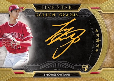 Golden Graphs Shohei Ohtani