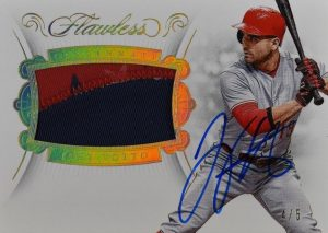 Patch Auto Gold Joey Votto