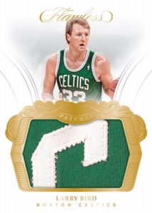 Patches Gold Larry Bird