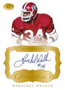 Premium Ink Gold Herschel Walker