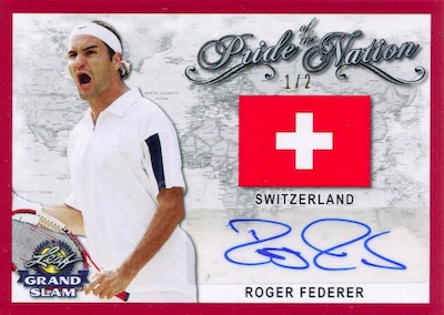 Pride of the Nation Auto Roger Federer