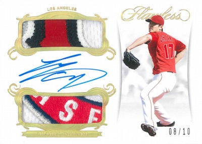 Rookie Dual Patch Auto Gold Shohei Ohtani