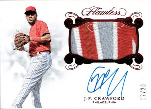 Rookie Patch Ruby Auto JP Crawford