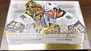 Signature Renditions Combo Marc-Andre Fleury, James Neal