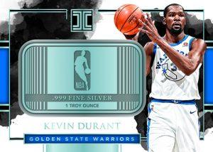 Silver NBA Logo Kevin Durant