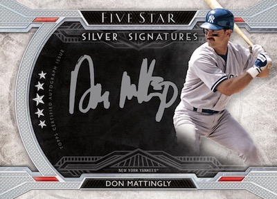 Silver Signatures Don Mattingly