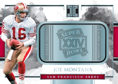 Silver Super Bowls Joe Montana