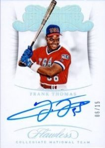 USA Baseball Signatures Frank Thomas