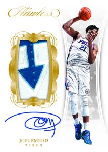 Vertical Patch Auto Gold Joel Embiid
