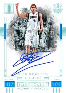 Victory Signatures Blue Dirk Nowitzki
