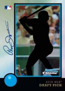1998 Bowman 20th Anniversary Auto MOCK UP