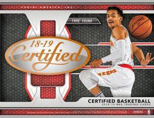 2018-19 Panini Ceritifed Basketball