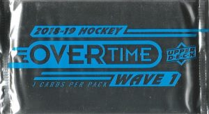 2018-19 UD Overtime Wave 1