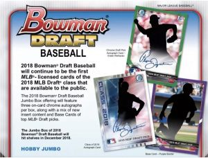 2018 Bowman Draft Baseball