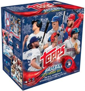 2018 Topps Holiday Retail Box