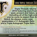 2018 Topps Triple Threads