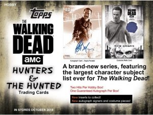2018 Topps Walking Dead Hunter and Hunted