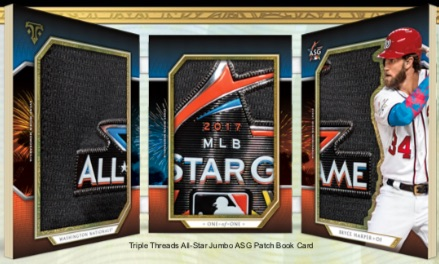 All-Star Jumbo ASG Patch Book Bryce Harper