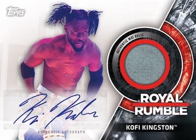 Auto Royal Rumble 2018 Mat Relic Kofi Kingston