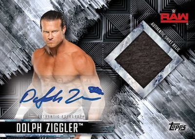 Auto Shirt Relic Dolph Ziggler
