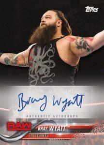 Autographs Bray Wyatt