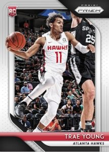 Base Silver Rookie Trae Young