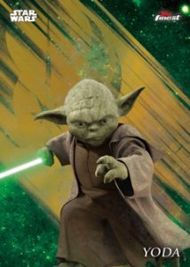 Base Gold Refractor Yoda