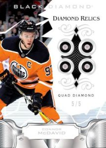 Base Quad Diamond Relics Connor McDavid