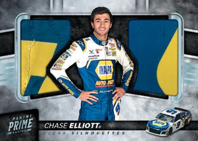 Clear Silhouettes Dual Materials Chase Elliott