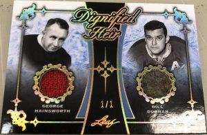 Dignified Heir Dual Relics George Hainsworth, Bill Durnan