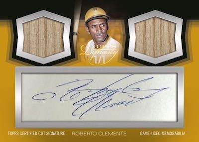 Dual Relic Cut Signature Roberto Clemente