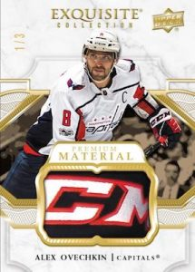 Exquisite Collection Gold Spectrum Premium Materials Alex Ovechkin