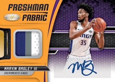 Freshman Fabric Signatures Marvin Bagley III