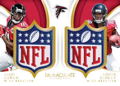 Immaculate Dual NFL Shields Julio Jones, Calvin Ridley
