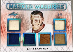 Masked Warriors Six Relics Terry Sawchuk