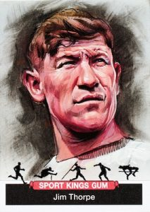Original Art Sketch Jim Thorpe